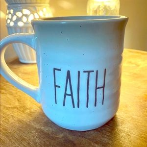 "Sheffield Homes Pottery ""Faith"" Mug"